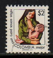 COLOMBIE. N°707-8 De 1977 Oblitérés. Plan Alimentaire Mondial. - Contro La Fame
