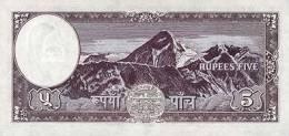 NEPAL P. 13 5 R 1961 UNC (s. 5) - Népal