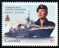 Canada (Scott No.2386 - La Marine Canadienne / Canadian Naval Force) (o) - 1952-.... Règne D'Elizabeth II