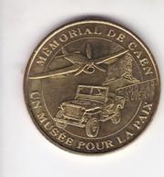 Jeton Médaille Monnaie De Paris MDp Memorial De Caen 2005 Un Musée Pour La Paix - Monnaie De Paris