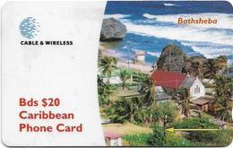 Barbados - Bathsheba - 263CBDG - 1998, 70.000ex, Used - Barbades