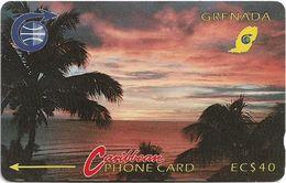 Grenada - Sunset - 3CGRB - 1991, 18.500ex, Used - Grenada