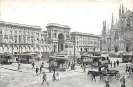 Milano - Anim. Tram - Arco Della Galleria Vitt. Em. II - Milano