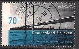 Deutschland / Germany (2018)  Mi.Nr.  3383  Gest. / Used  (10aa33)  EUROPA - Brücken
