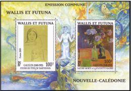 "Wallis Bloc YT 13 "" Emission Commune - P. Gauguin "" 2003 Neuf** - Hojas Y Bloques"