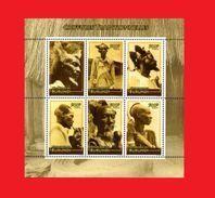 BURUNDI 2010 - COIFFURES TRADITIONNELLES COUPES DU BURUNDI - HAIRDRESSING HAIRSTYLE HAIR - RARE - S/S - MNH ** - Burundi