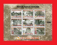 BURUNDI 2010 - UPAP Arts Et Culture Du Burundi - 30ème Anniversaire De L'UPAP - RARE - S/S - MNH ** - Burundi
