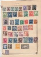 HONDURAS Lot Collection 1 Page Timbres  Anciens - Tous états Non Triés - Honduras