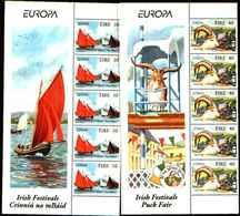 72650)  IRLANDA 1998 Europa 2v- MNH**-blocco Di 5 - 1949-... Repubblica D'Irlanda