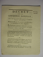 DECRET CONVENTION NATIONALE 26 OCTOBRE 1793 - CONTREFACON ASSIGNATS - IMPRIMERIE LIMET CLERMONT FERRAND - Décrets & Lois