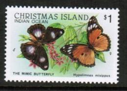 CHRISTMAS ISLAND  Scott # 209** VF MINT NH (Stamp Scan # 419) - Christmas Island