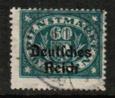 BAVARIA  Scott # O 59 F-VF USED (Stamp Scan # 419) - Beieren