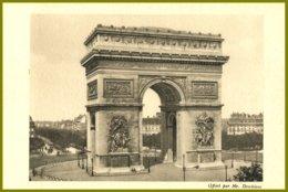 CPA-Journées Medicales De Paris-Arc De Triomphe -Offert Par Mr.Deschiens .non Voyagée - Monuments