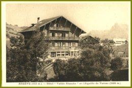 CPA-Photo Edit.L.Morand -France, MEGEVE- Hôtel Vallée Blanche Et L'Aiguille De Varens - Hotels & Restaurants