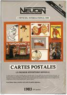 ARGUS NEUDIN 1983 <  COTATION DES CARTES POSTALES - Livres