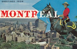 12139-GREETINGS FROM MONTREAL(CANADA)-FP - Montreal