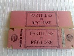 Boite En Carton PASTILLES DE REGLISSE - Vieux Papiers
