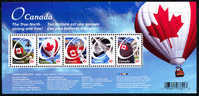 Canada (Scott No.2418 - Emission Régulière Histoire Du Nord / True North History Regular Issue )  [**] BF / SS - Blocs-feuillets