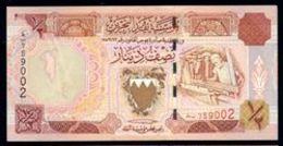BAHREIN (BAHRAIN) : 1/2  Dinar - P18 - 1998 - UNC - Bahreïn