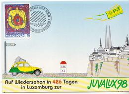 Luxembourg Maximum Card With Juvalux - Maximum Cards