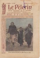 LE PELERIN 1913 15 Juin Femmes Irlandaises Fuyant La Peste, Alphonse XIII, Les Suffragettes, L'abject Zola, , - Livres, BD, Revues