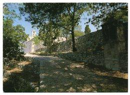 LE BEAUSSET -- 1991--Chapelle Du Beausset-Vieux--Sanctuaire Vu De L'oratoire  --timbre -- Cachet - Le Beausset