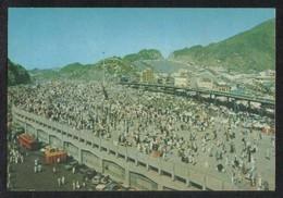Saudi Arabia Picture Postcard Aerial View Pilgrims In Muna Islamic View Card - Arabia Saudita