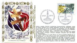 Bureau Temporaire Saint Pierre Quiberon Du 13 Juillet 1994 - Hommage Aux Martyrs Du Fort Penthièvre - X 694 - WW2