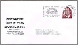 Inauguracion PLAZA DE TOROS De ROQUETAS DE MAR. Roquetas, Almeria, Andalucia, 2002 - Fiestas