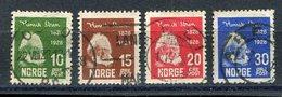 Liquidation (bisher EUR 1.70) / Norwegen / 1928 / Mi. 137-140 O (20257) - Gebraucht
