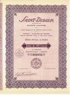 SAINT DIDIER AUTOMOBILES PARIS 1929 B.E.VOIR SCANS - Automobile