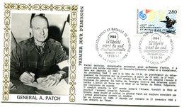 Bureau Temporaire La Croix Valmer Du 13 Août 1994 - Débarquement Et Bataille De Provence  - X 699 - Guerre Mondiale (Seconde)