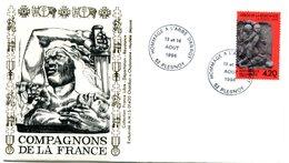 Bureau Temporaire Plesnoy Du 13 & 14 Août 1994 - Hommage à L'Abbé Darrot  - X 702 - WW2 (II Guerra Mundial)