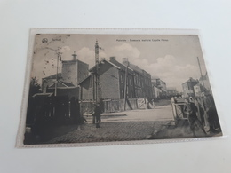 *JUMET Malervés- Brasserie Malterie Coyette Frères Oblitéré En 1913 - Charleroi