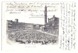 Siena - Lo Storico Palio. 1903 - Siena