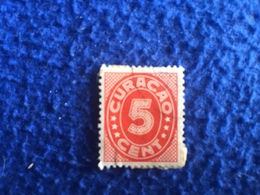 Curacao 1936 Lightly Canceled 5 Cent Stamp - Stamps
