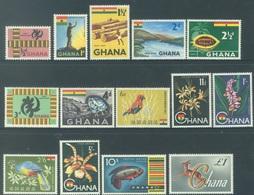 GHANA - 1959-1961 - MNH/** - Yv 41-53A - Lot 17892 - Ghana (1957-...)