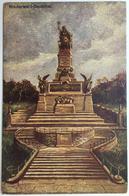 Niederwald-Denkmal - Künstlerkarten - Verlag Von Karl Rud. Bremer & Co., Köln A. Rh., Nr. 5352 (Rhein) / TTB - Rheingau