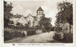 CPA - France - (87) Haute-Vienne - Ladignac-le-Long - L'Eglise - Lauriere