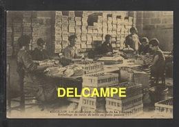 DF / 47 LOT ET GARONNE / AIGUILLON / DOMAINE DE LA CIBADÈRE / EMBALLAGE DU RAISIN DE TABLE EN PETITS PANIERS - Autres Communes