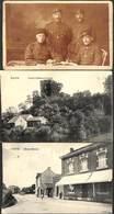 Saive - Lot 3 Cartes (échange Mme Bierset Avec Camp De Prisonnier De Soltau + Café Animée De Saive (1916) - Blegny