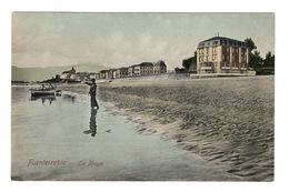 ESPAGNE - Pays Basque, FUENTERRABIA La Playa, Aquarellée - Other