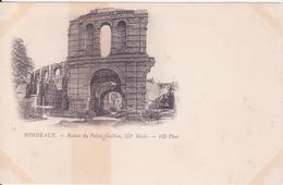 CPA -  33. BORDEAUX Ruines Du Palais Gallien - Bordeaux