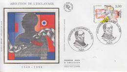 Enveloppe  FDC   1er Jour    FRANCE   Abolition  De  L' Esclavage    1998 - FDC