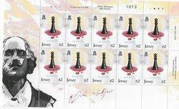 Jersey 2014 ; Chess Ajedrez Shakespeare In Full Sheet - Sonstige