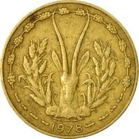 Monnaie, West African States, 10 Francs, 1978, Paris, TB+ - Côte-d'Ivoire