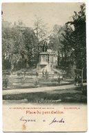 CPA - Carte Postale - Belgique - Bruxelles - Place Du Petit Sablon - 1902 (SV5917) - Marktpleinen, Pleinen