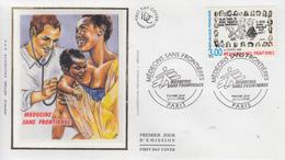 Enveloppe  FDC   1er Jour    FRANCE     MEDECINS  SANS   FRONTIERES    1998 - FDC
