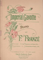 Spartito IMPERIAL GAVOTTE Per Piano Per Francois Franzè - RAFFAELE IZZO - Spartiti
