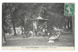 LUXEUIL Les BAINS  (cpa 70)  Dans Le Parc - Le Kiosque  -  L 1 - Luxeuil Les Bains